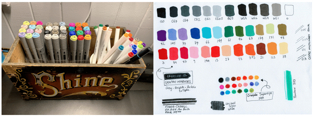 Exploring markers - image 1 - student project