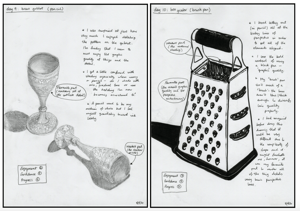 14 days of drawing - image 5 - student project