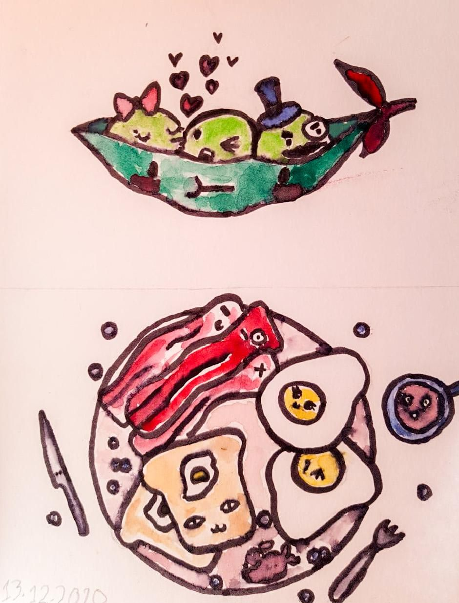 My cute foods - image 3 - student project