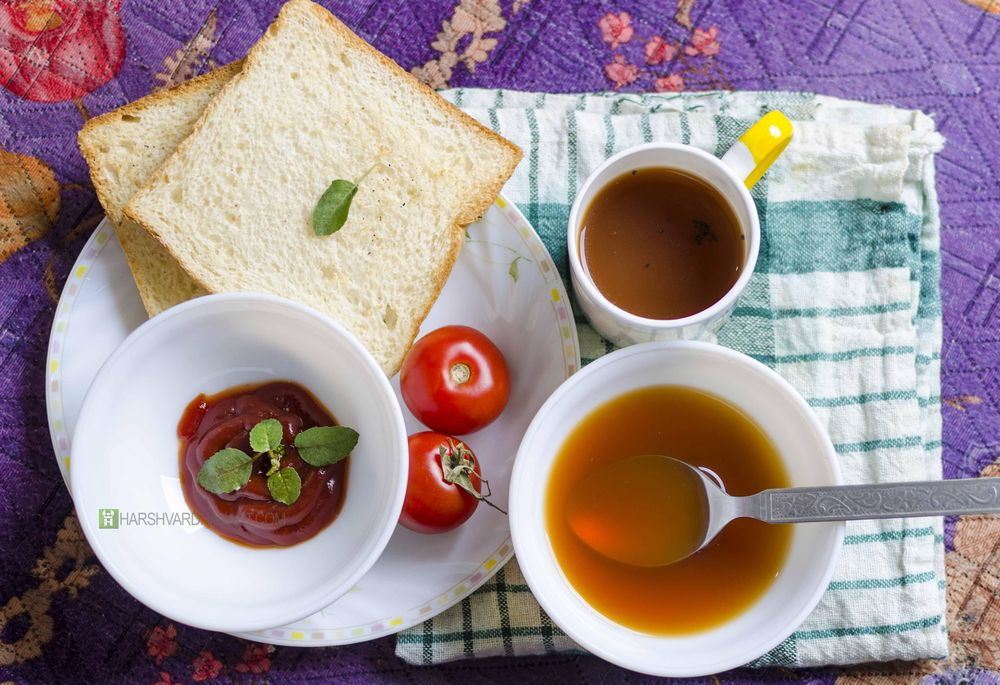 Delicious Soup-One Light Food Photography - image 1 - student project