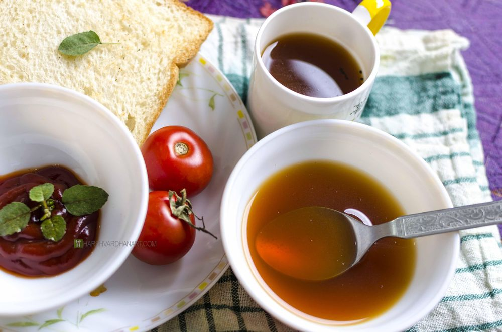 Delicious Soup-One Light Food Photography - image 2 - student project