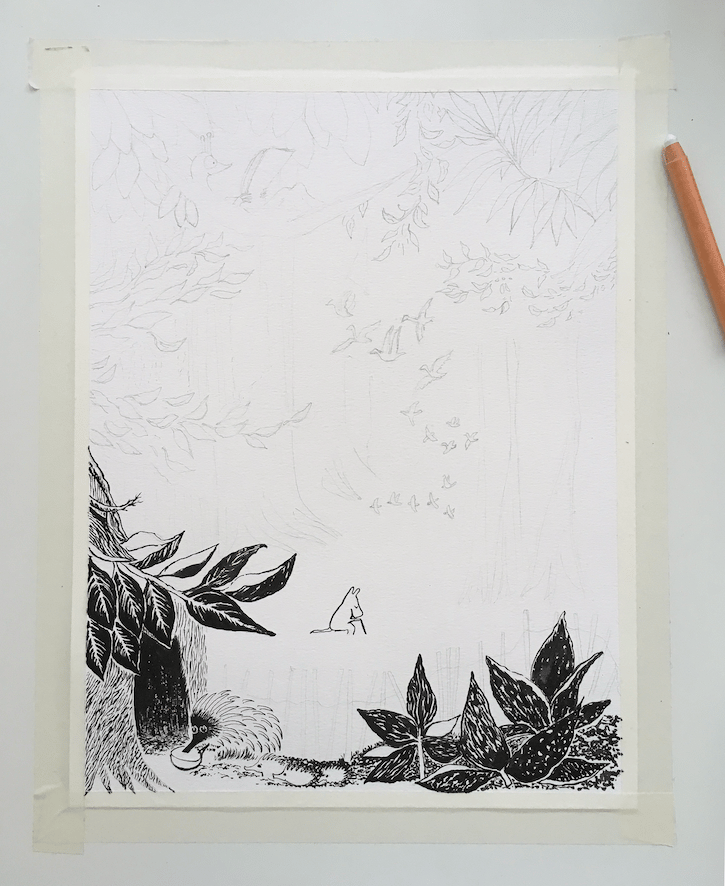 Moomin Forest - image 2 - student project