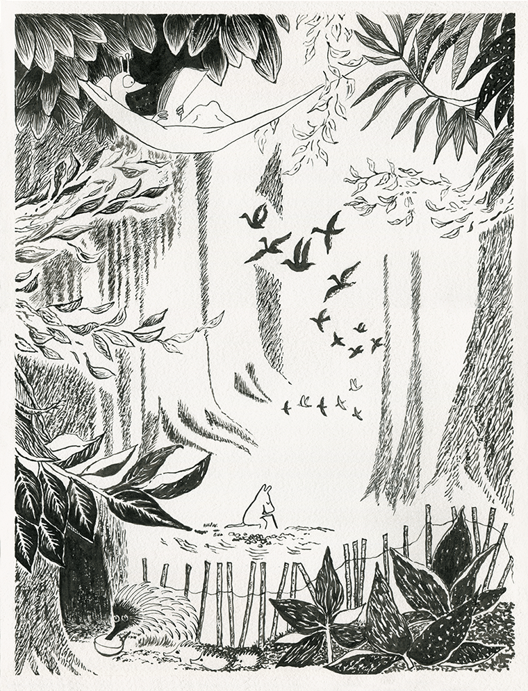 Moomin Forest - image 1 - student project