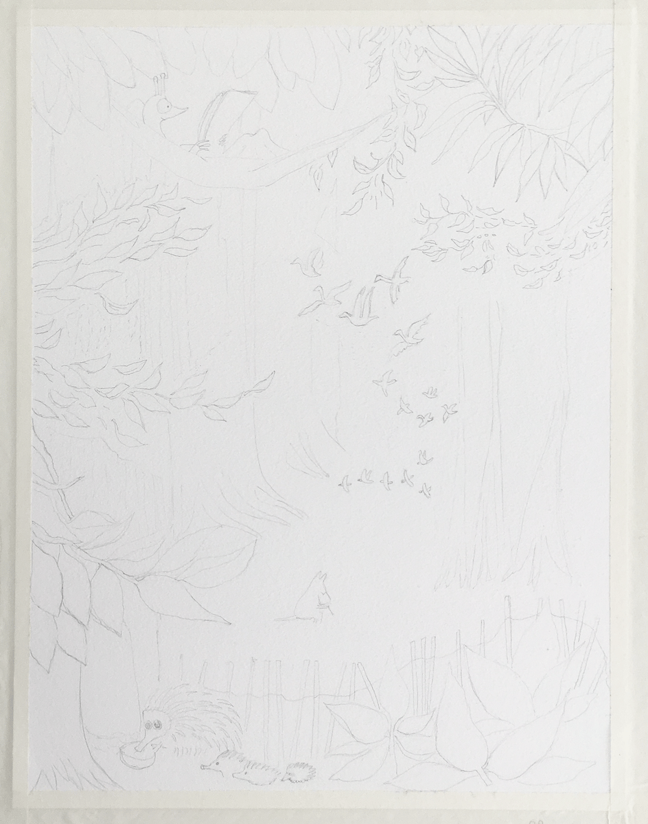 Moomin Forest - image 3 - student project