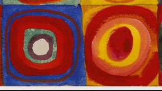 Watercolor Kandinsky - image 1 - student project