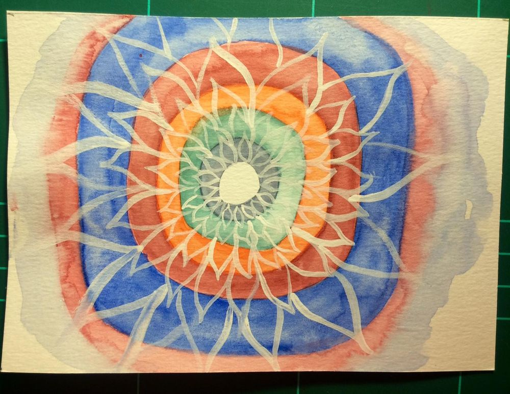 Watercolor Kandinsky - image 5 - student project