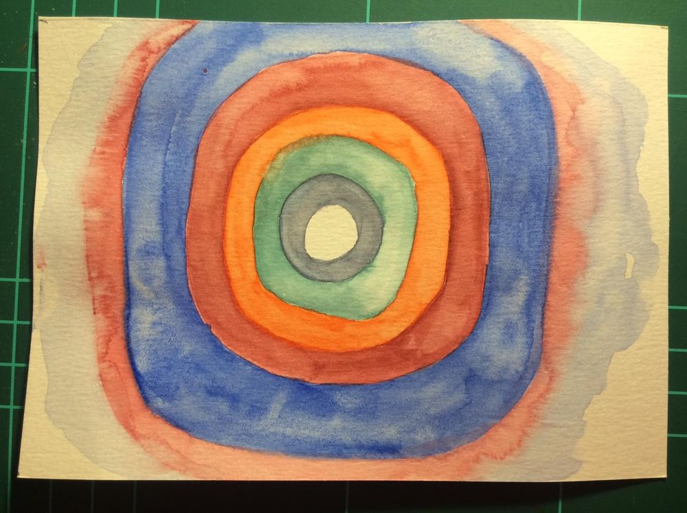 Watercolor Kandinsky - image 4 - student project