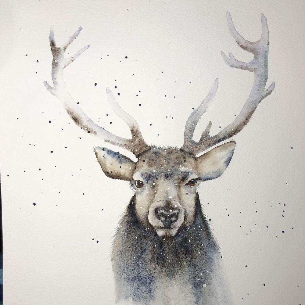 Festive Stag - image 1 - student project