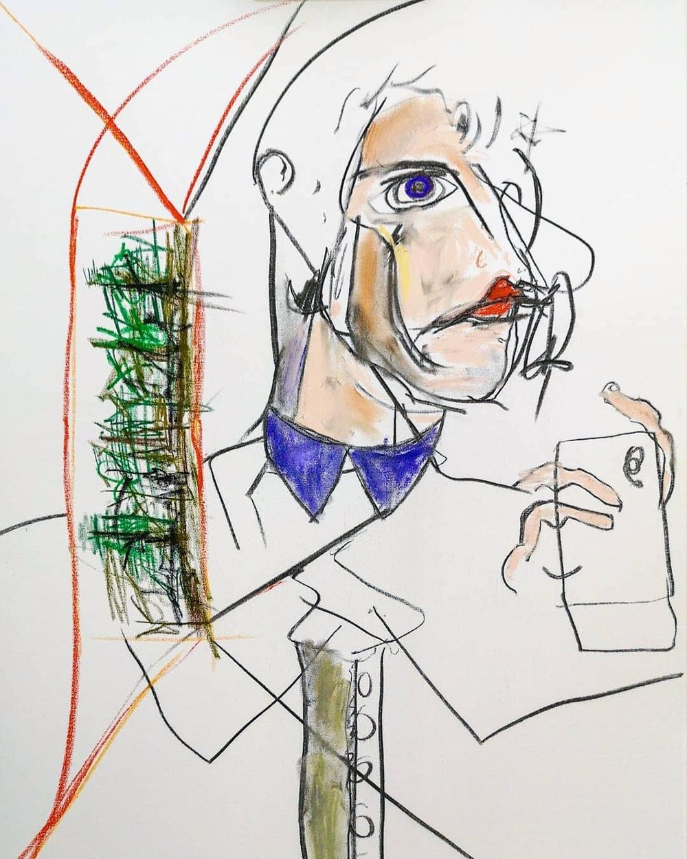 2 abstract self portraits - image 3 - student project