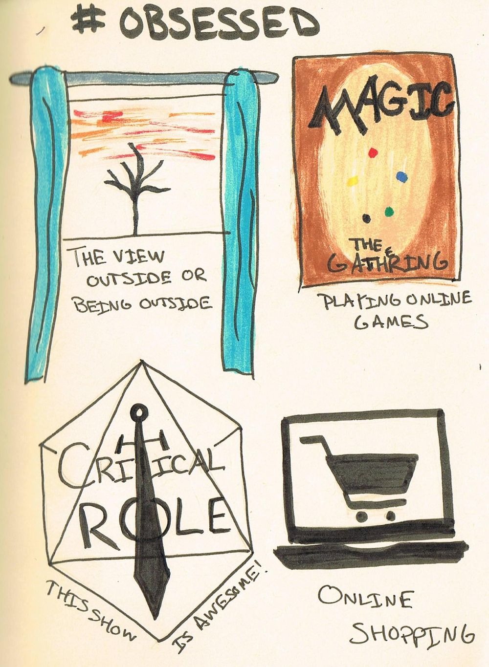 Journaling with Art - image 14 - student project