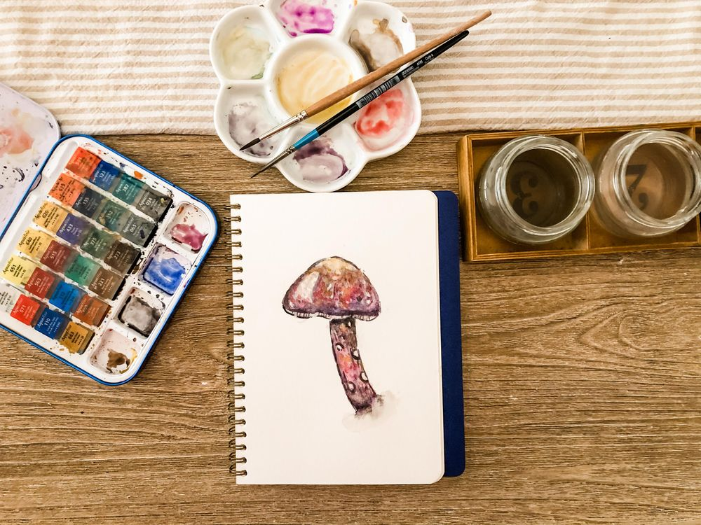 Mushroom - image 1 - student project
