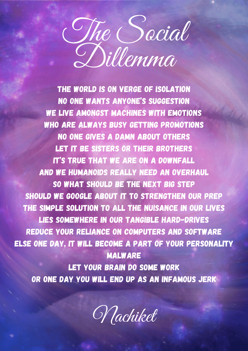 The Social Dilemma - image 1 - student project