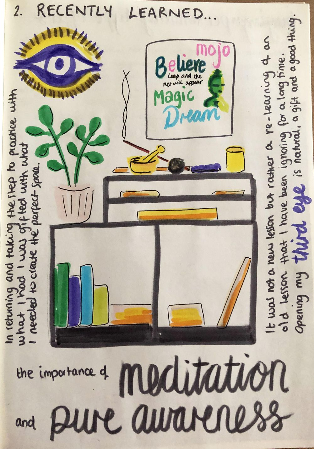 Daily Illustrated Journaling Prompts - image 13 - student project