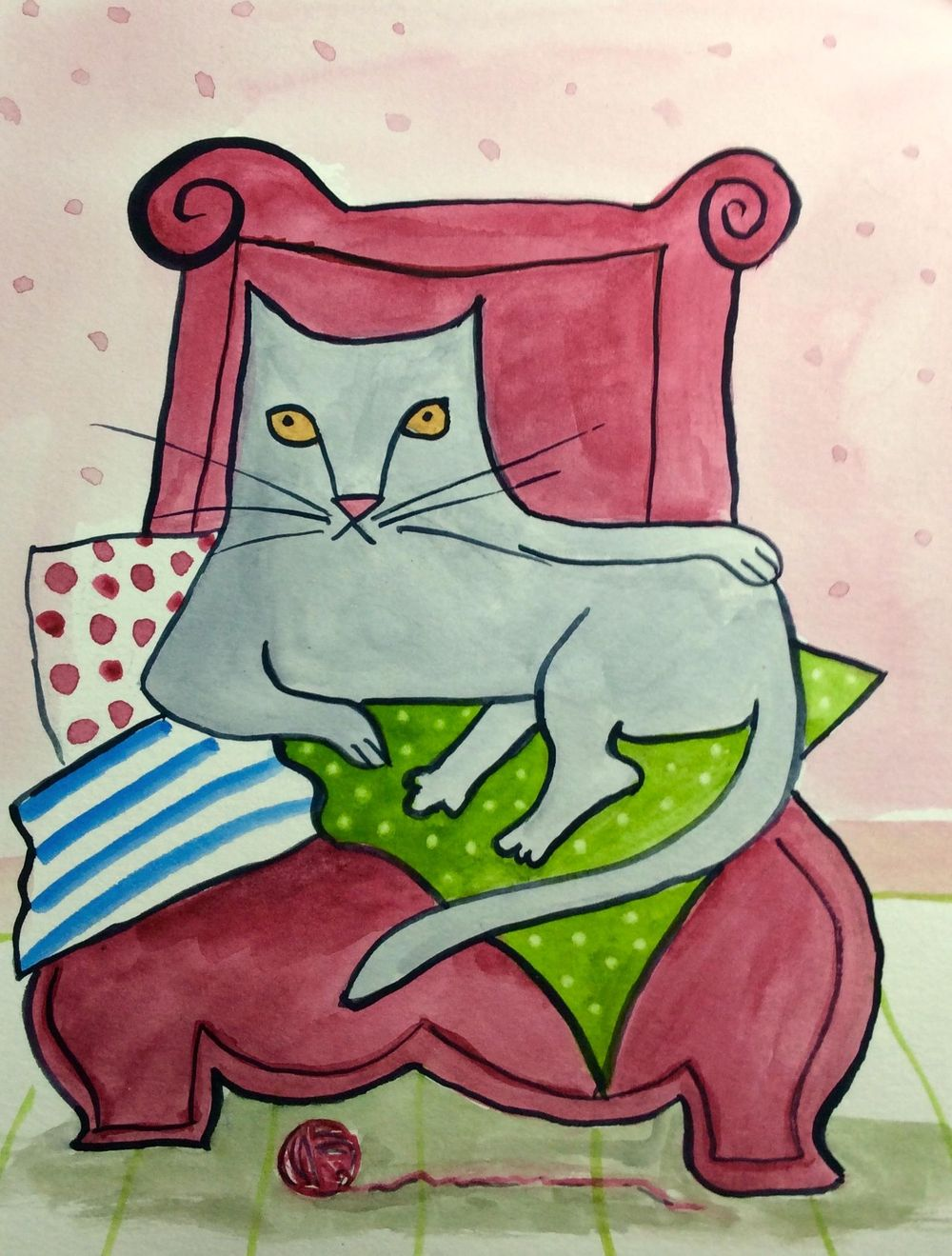 Drawing Arthur, my cat - image 3 - student project