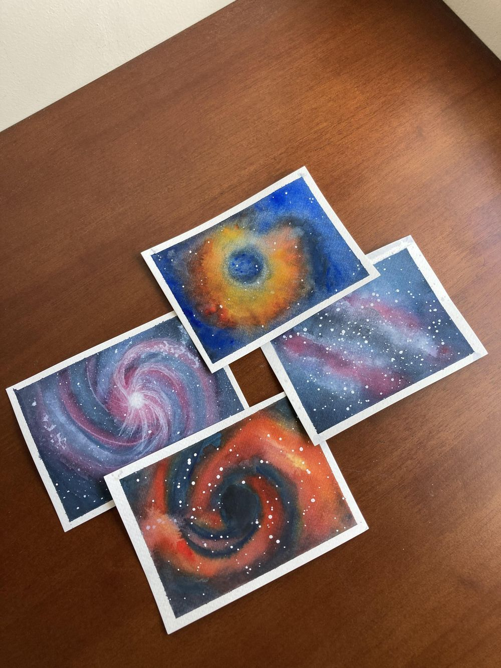 Galaxy Shapes - Vortex, Nebula, Spiral and Milky Way - image 5 - student project