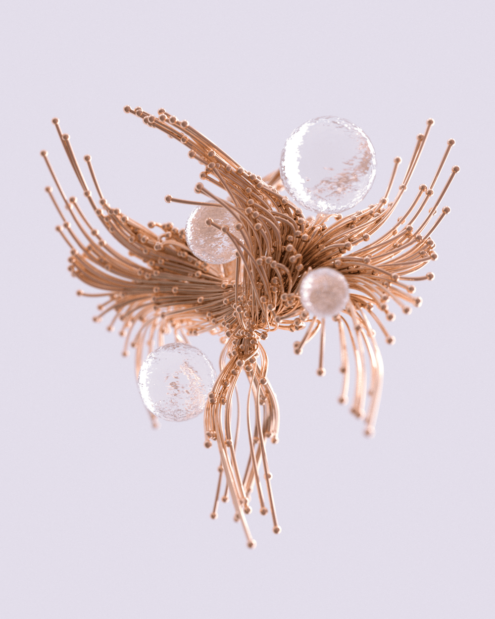 Flowing Tendrils in Redshift - image 1 - student project
