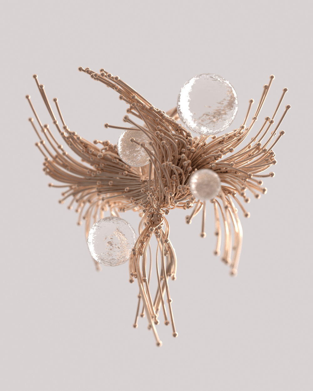 Flowing Tendrils in Redshift - image 2 - student project
