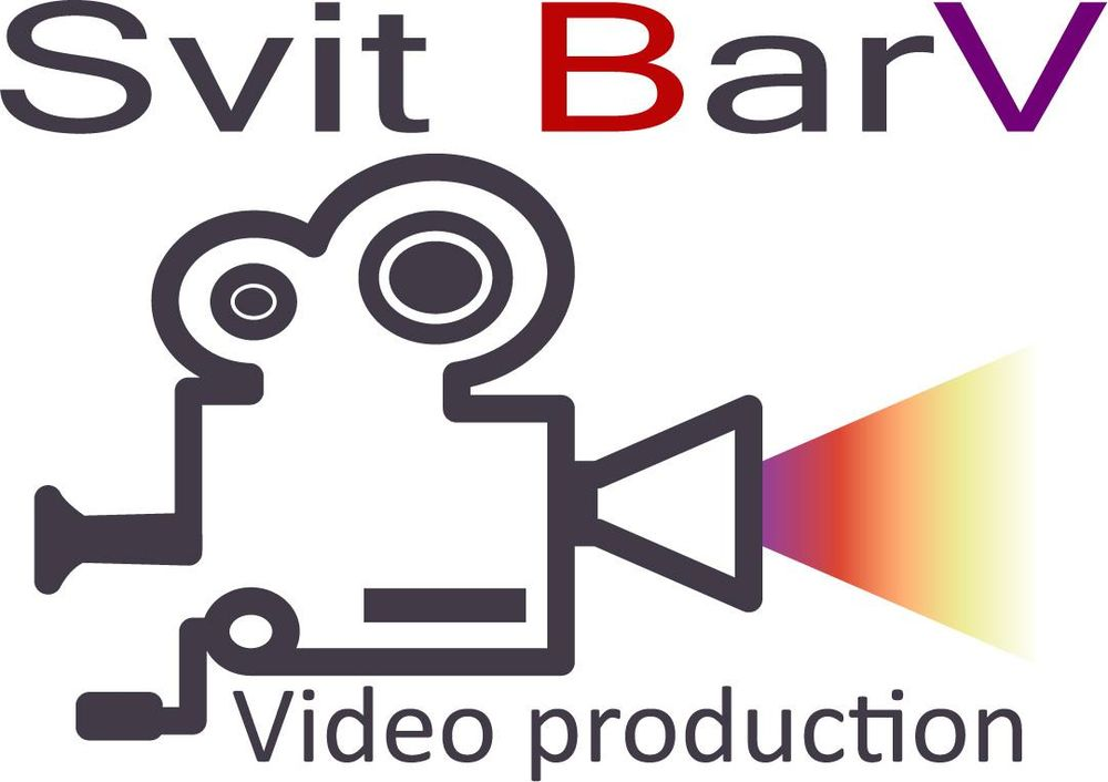 """Logo for """"Svit BarV"""" (video production) - image 3 - student project"""