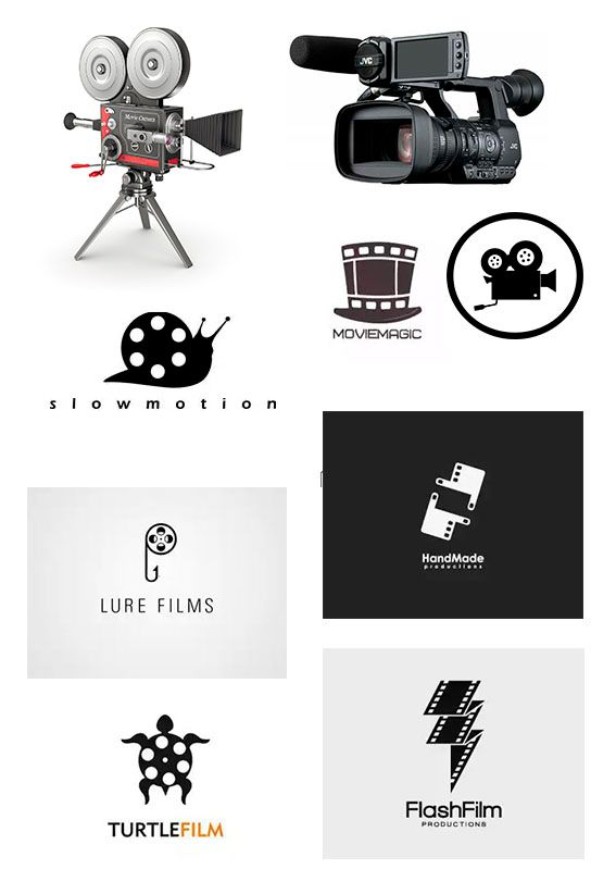 """Logo for """"Svit BarV"""" (video production) - image 1 - student project"""