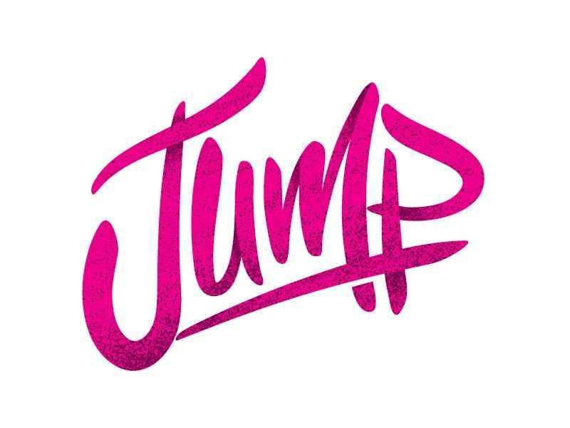 Jump Lettering - image 1 - student project