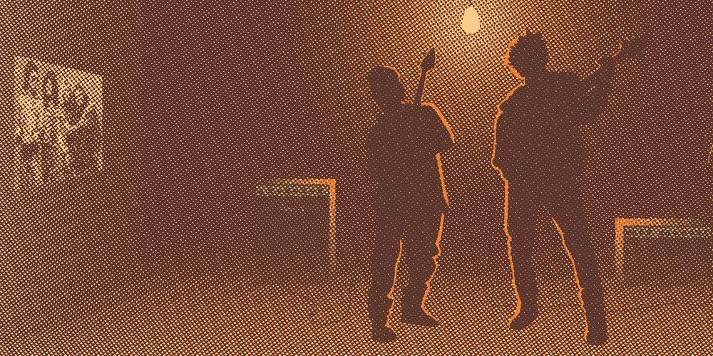 Bill & Ted Halftone Homage - image 2 - student project