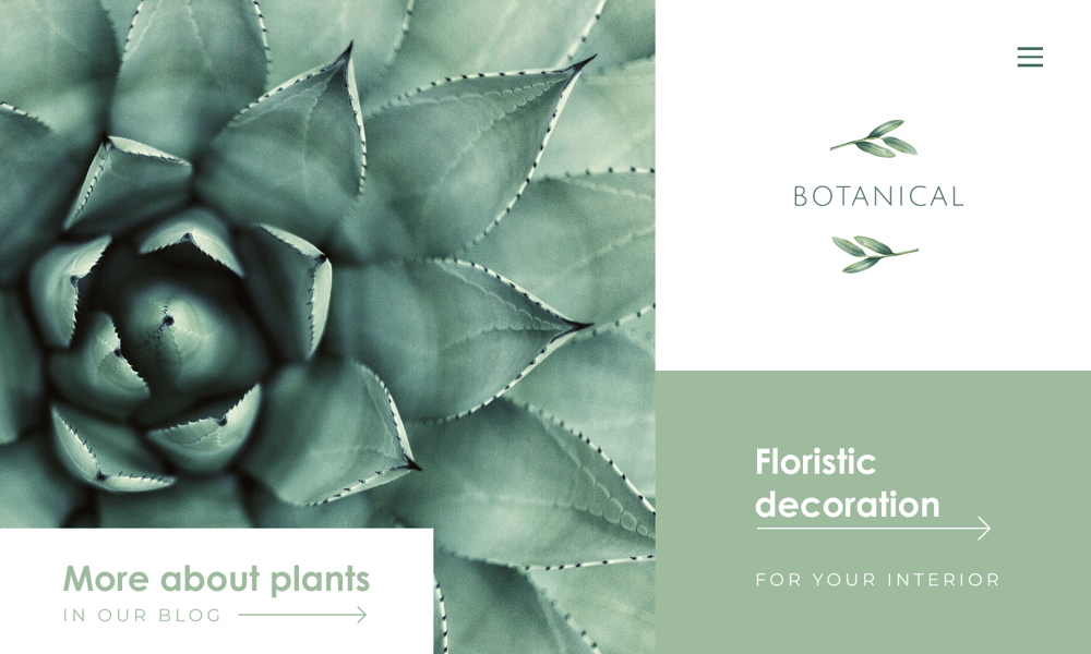 Floristic agency - image 2 - student project