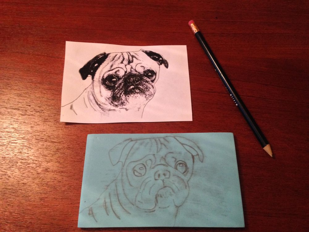 Pack of Pug Postcards - image 2 - student project