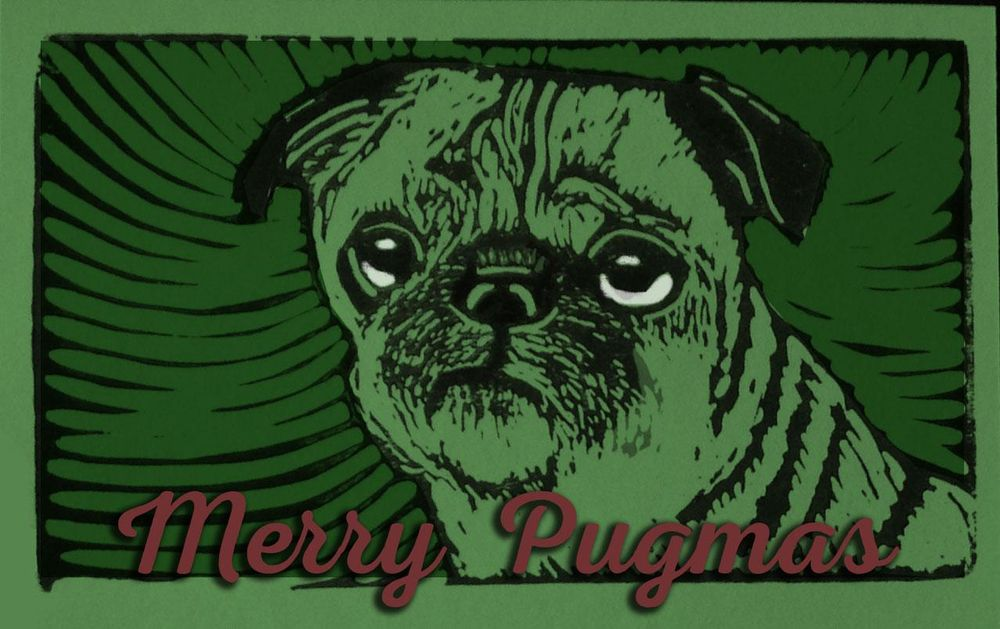 Pack of Pug Postcards - image 6 - student project