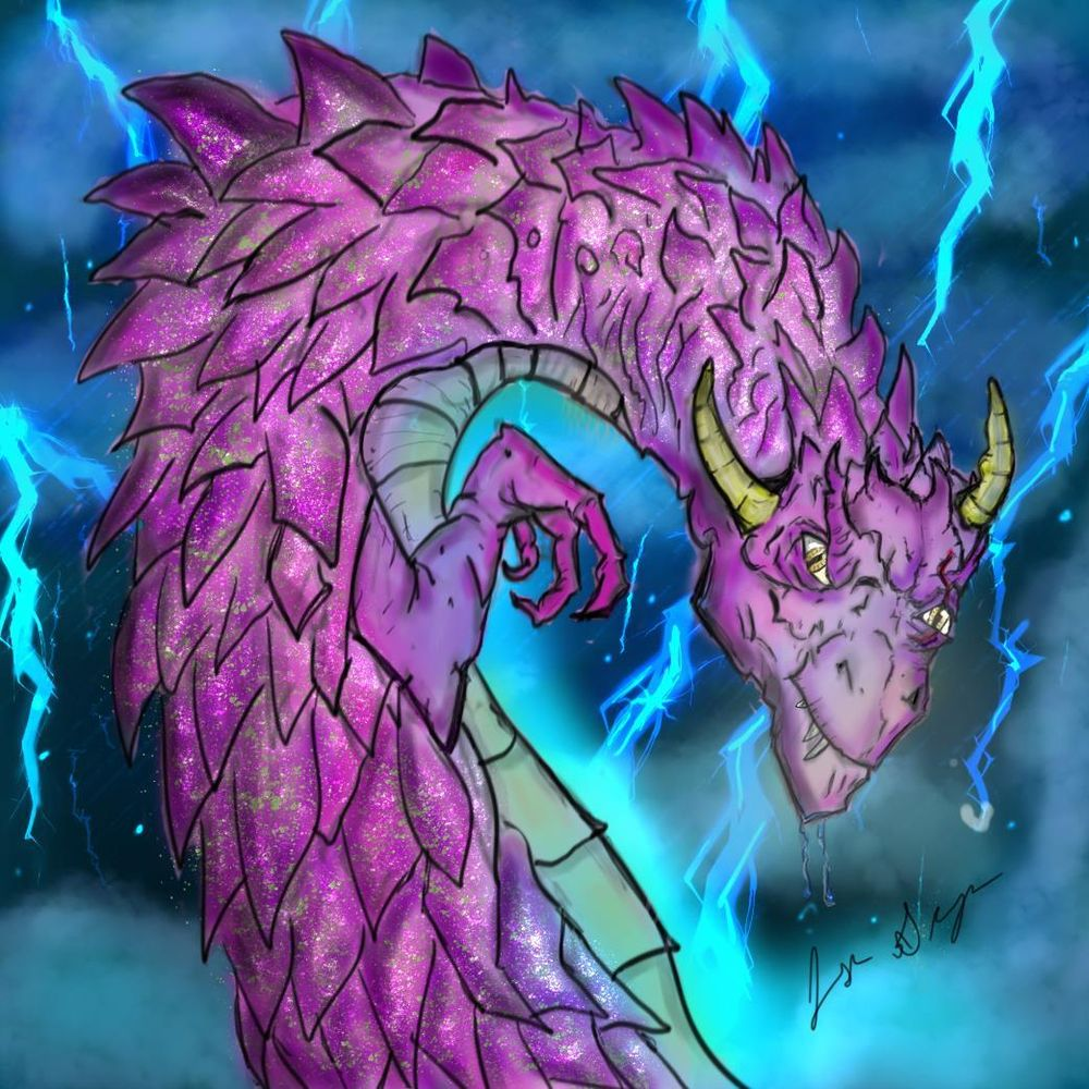 cave dragon - image 1 - student project