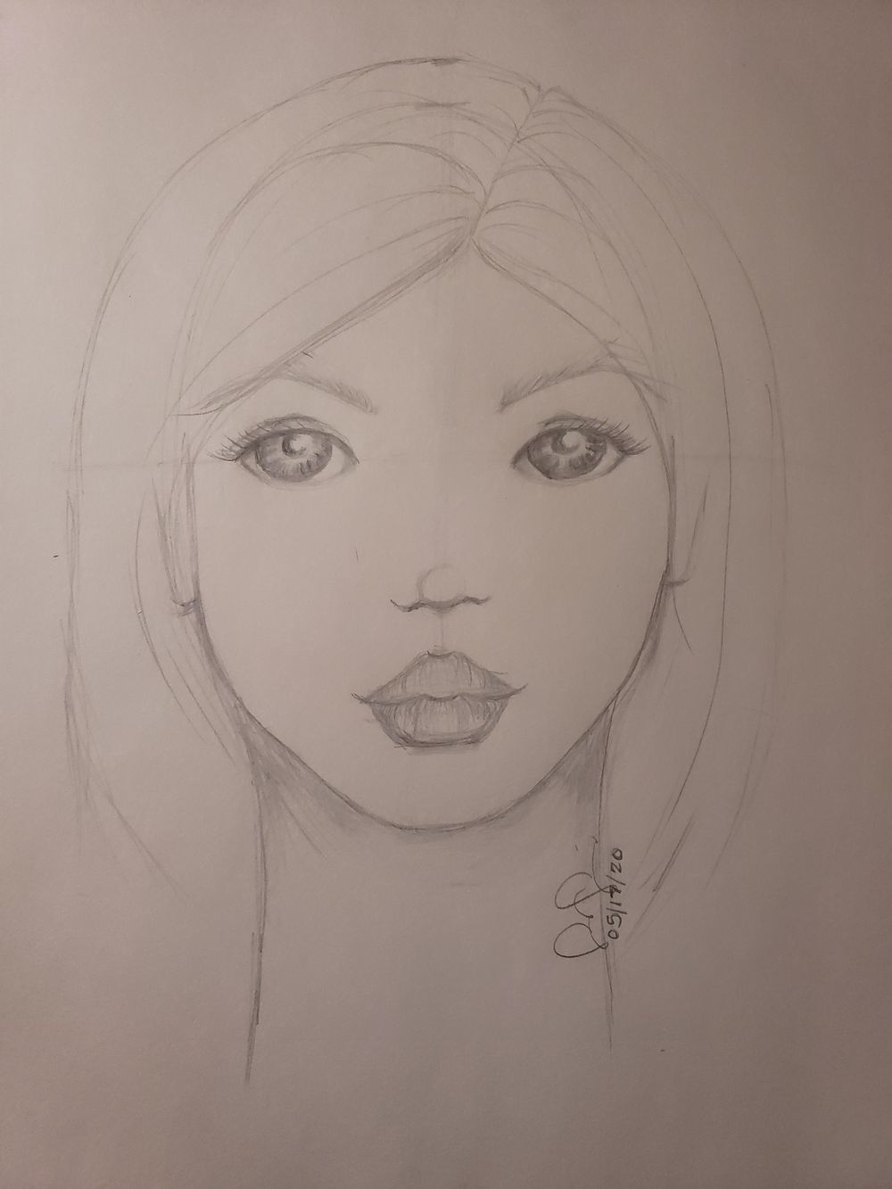 Whimsical Faces - image 1 - student project