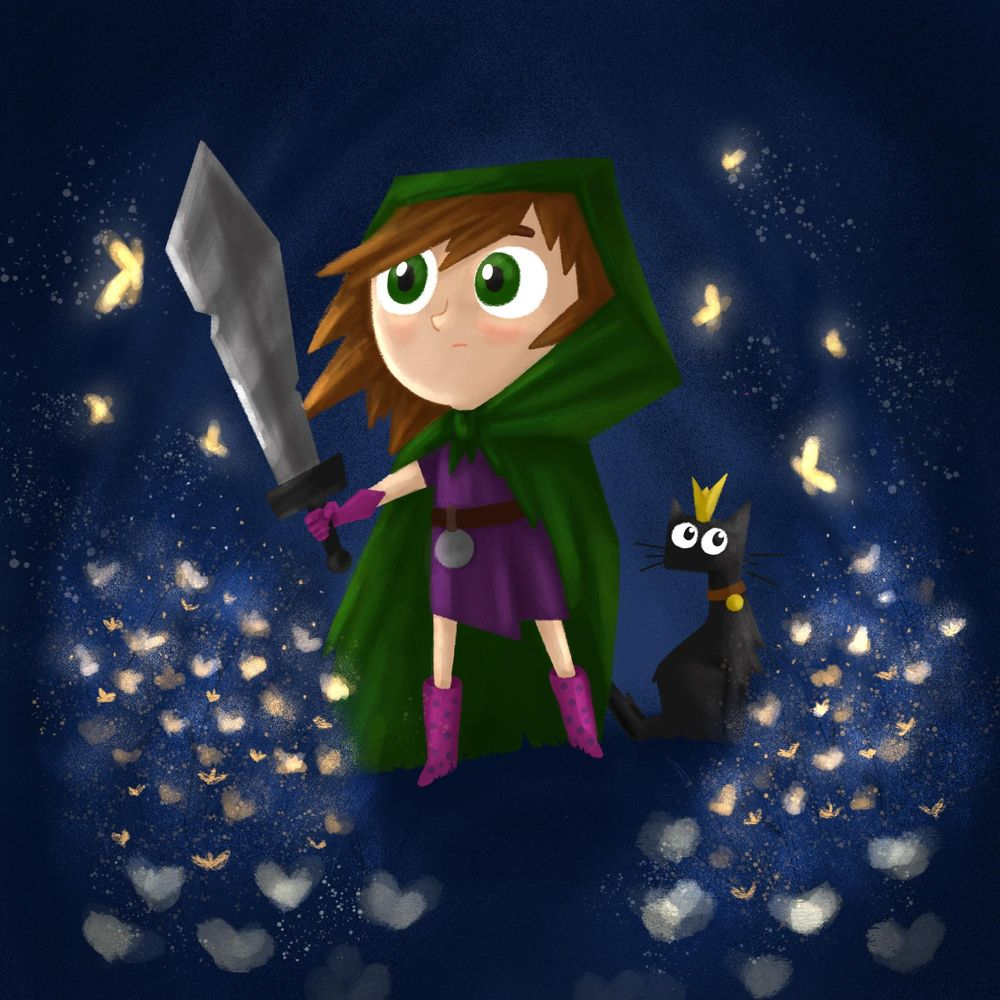 Princess and her guardian - image 1 - student project