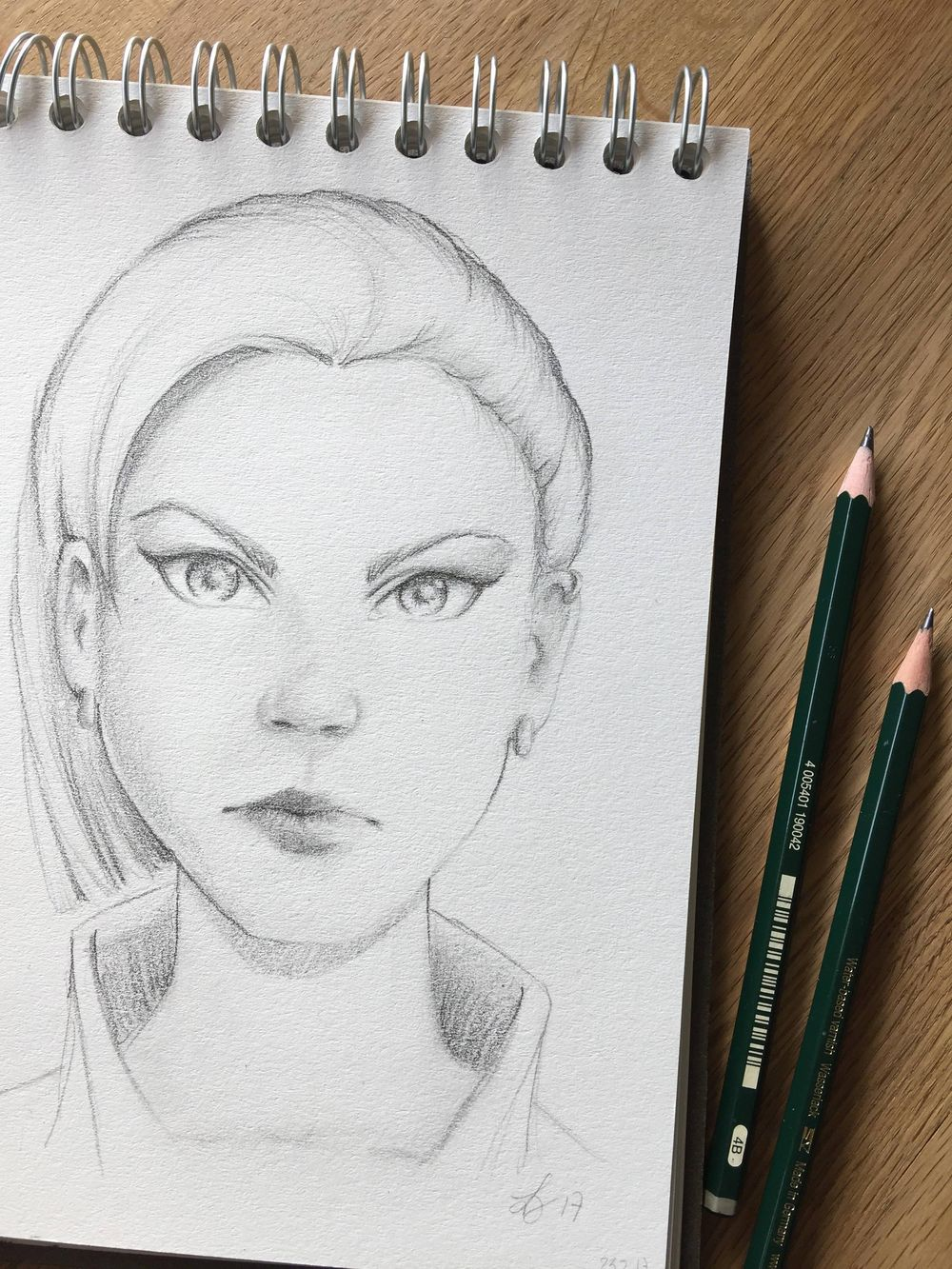Girl sketches with Gabrielle's technique and some of my own, old habits ;) - image 2 - student project