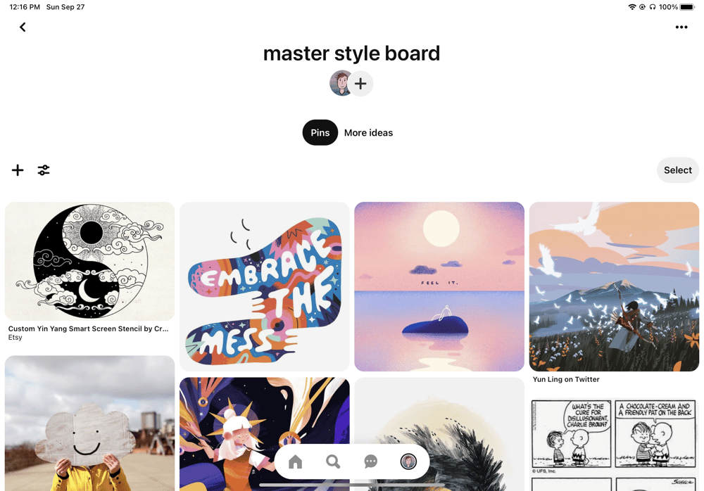 master board - image 1 - student project