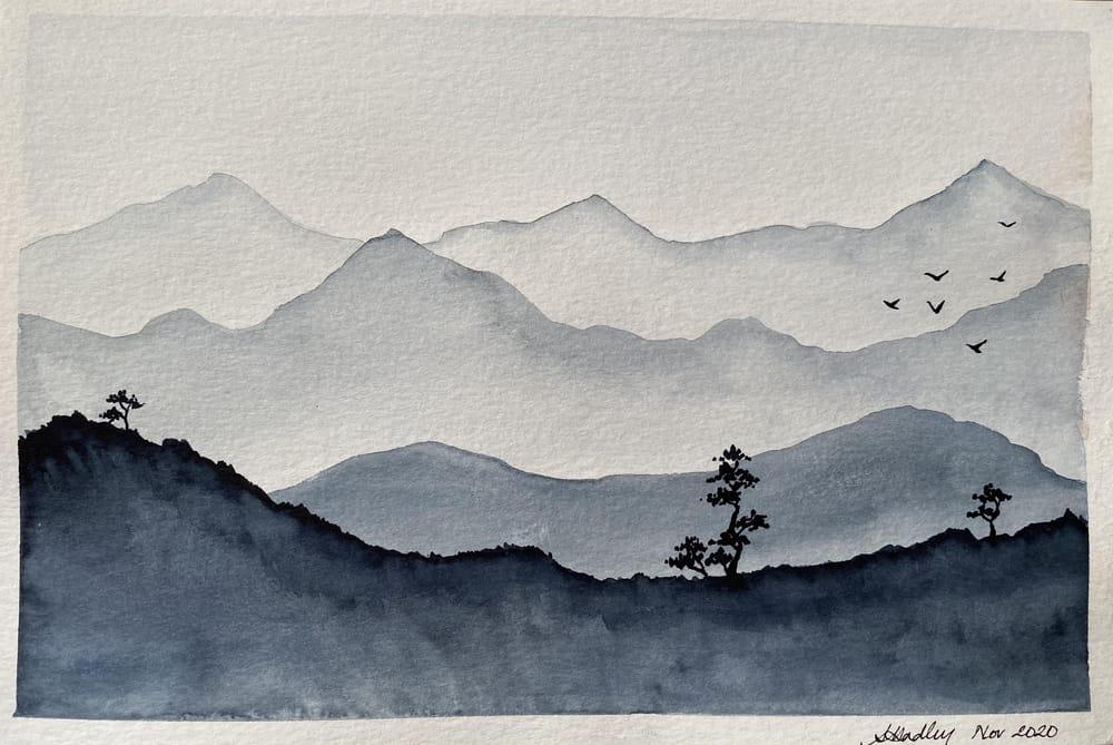 Monochrome landscapes - image 1 - student project