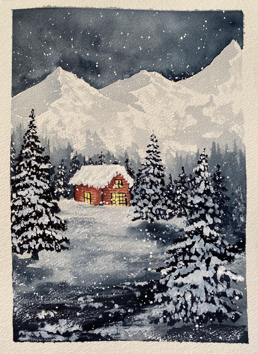 SnowyChristmas - image 1 - student project