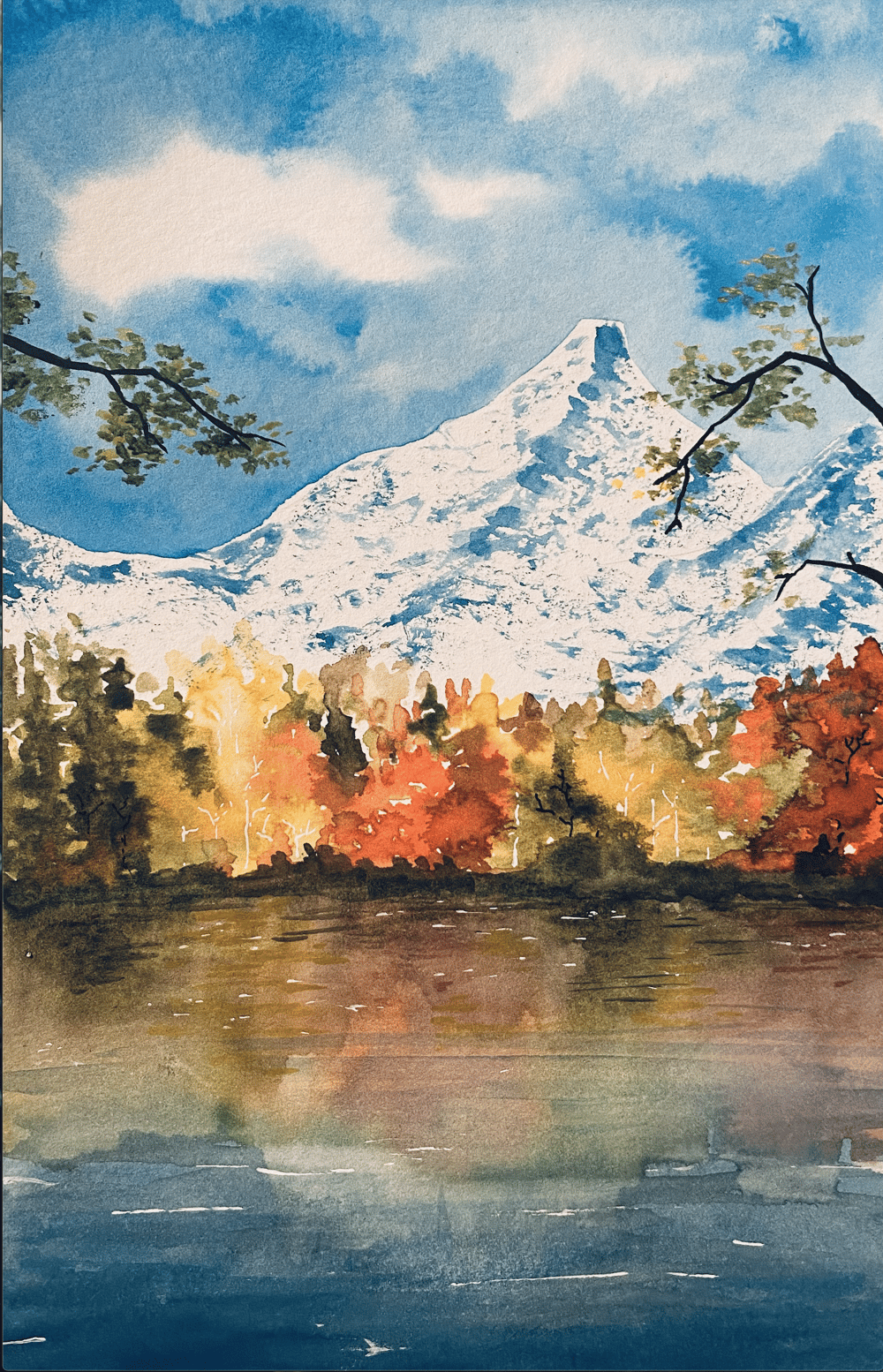 AutumnLandscapes_lake - image 1 - student project