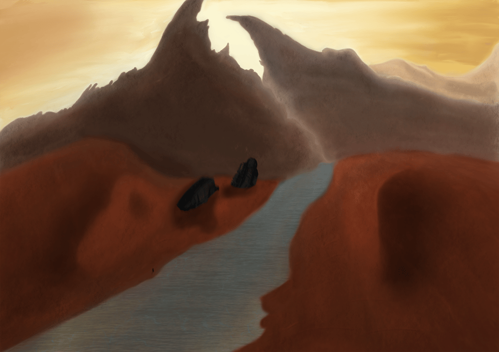 ShipInDesert - image 2 - student project