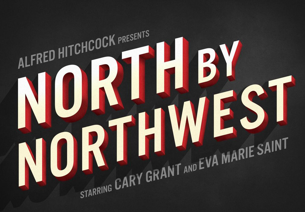 North By Northwest Movie Title - image 1 - student project