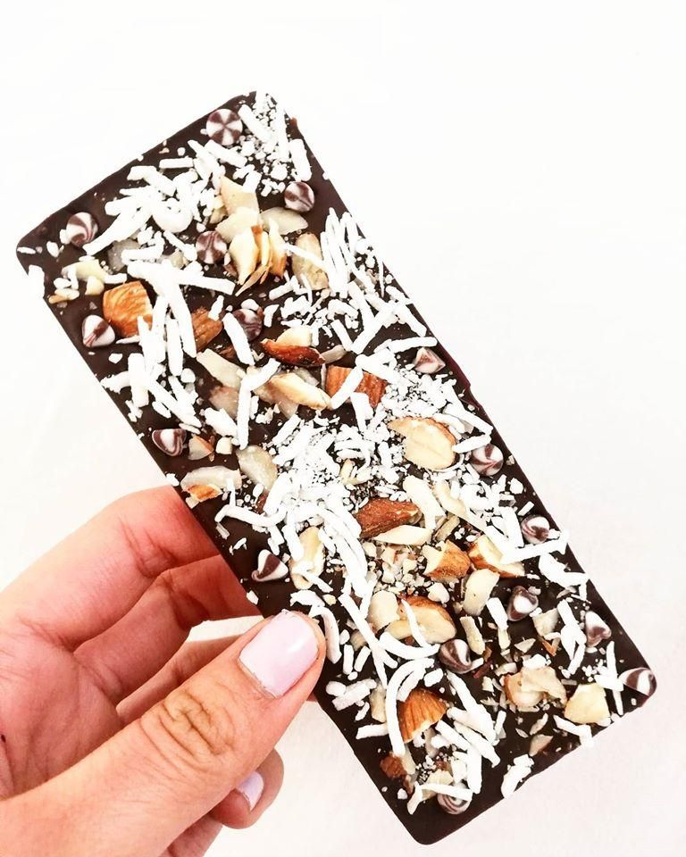 "My own dream chocolate bar ""kon kakaw"" - image 1 - student project"