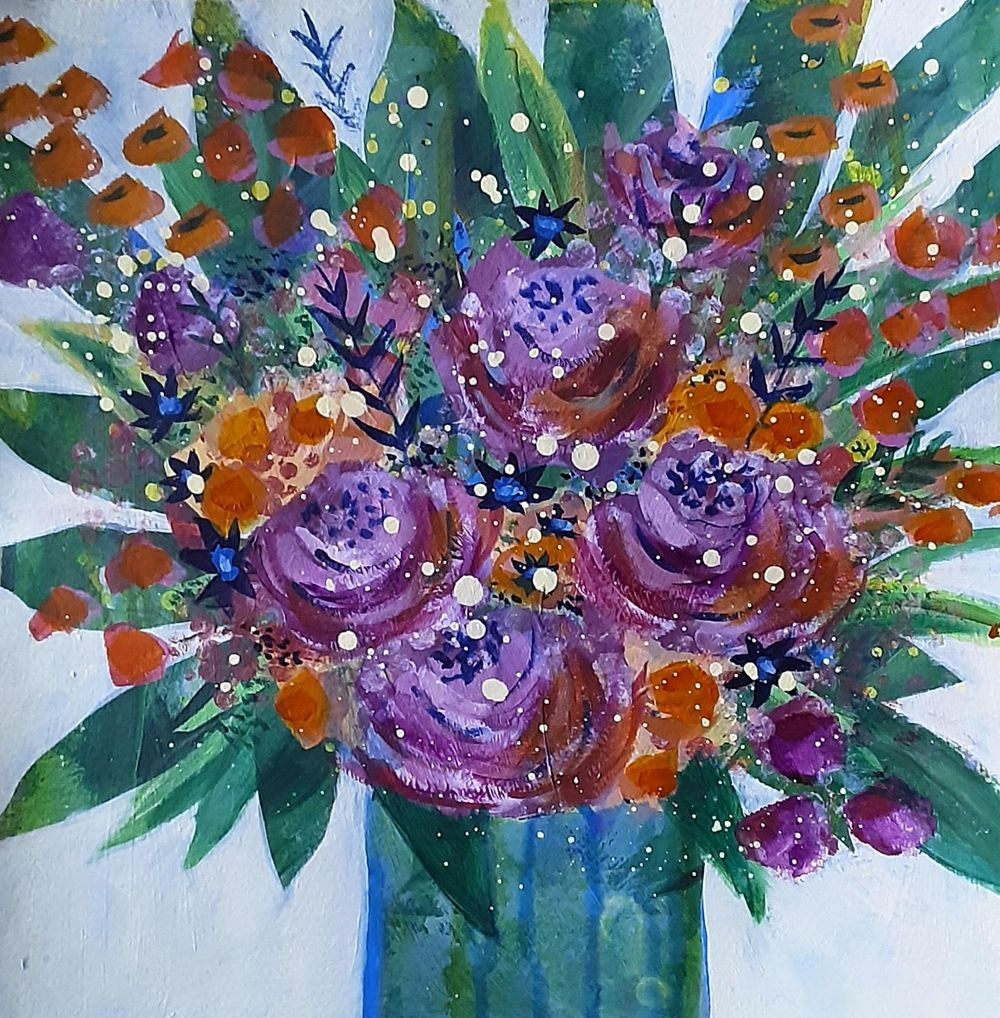 Abstract Florals - image 1 - student project