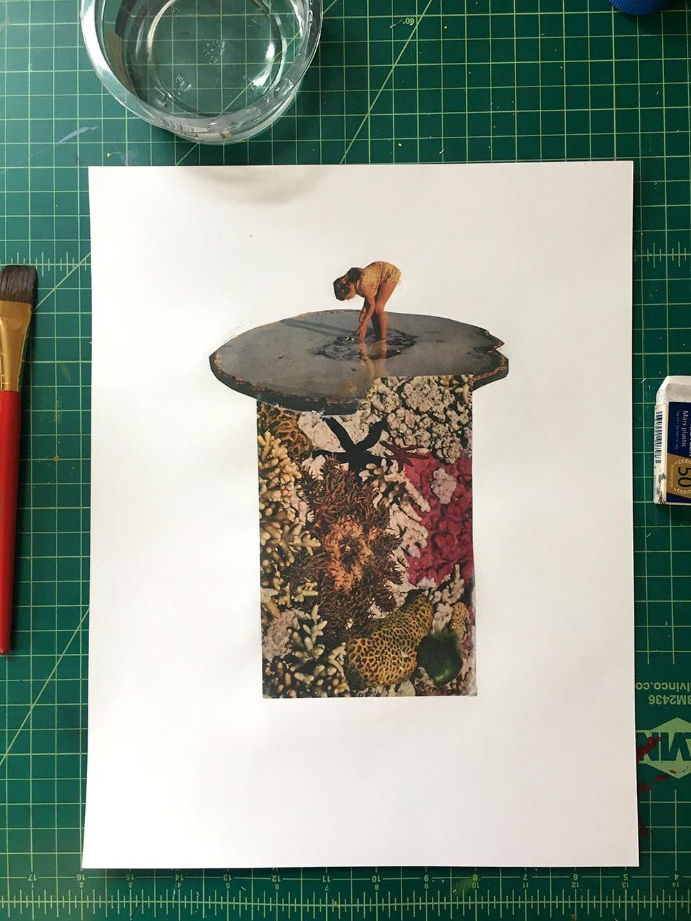 Gloss Gel Transfer Mixed Media Artwork - image 1 - student project