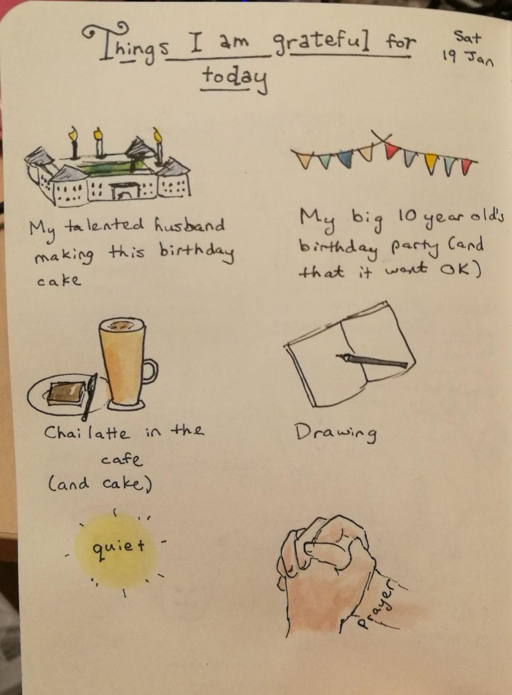 Things I'm grateful for - image 1 - student project