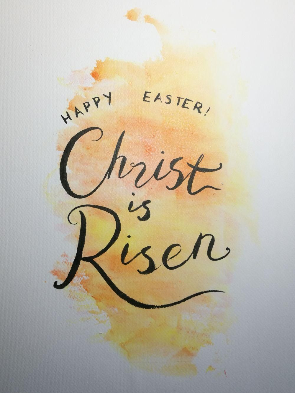 Easter lettering - image 1 - student project