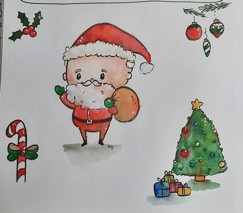 Christmas characters - image 2 - student project