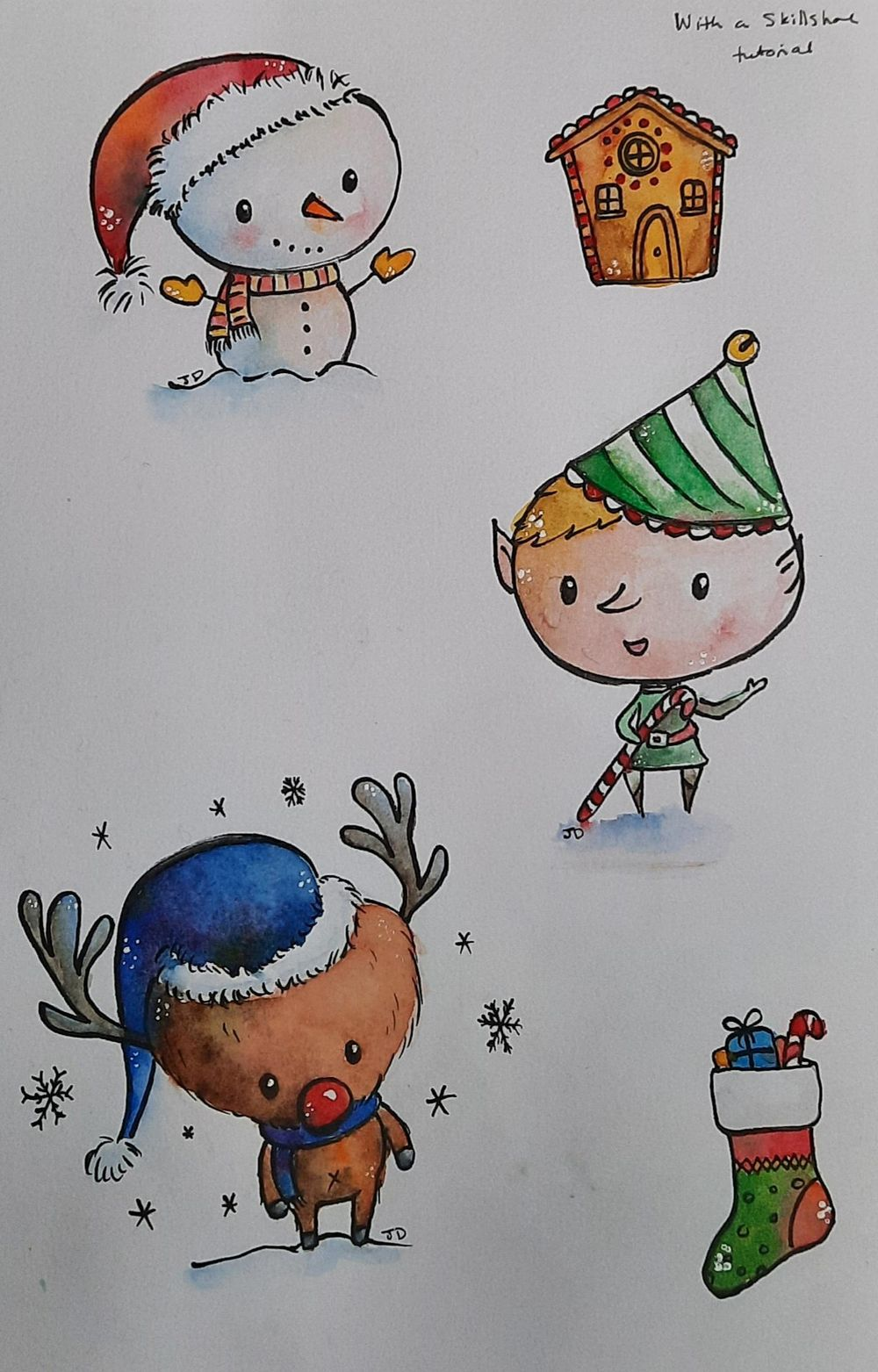 Christmas characters - image 1 - student project