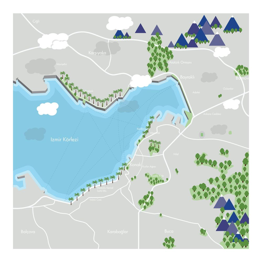 My new town - image 2 - student project