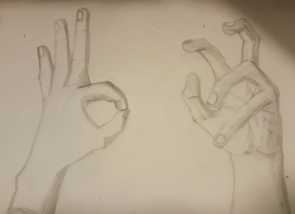 3 hands class project - image 1 - student project