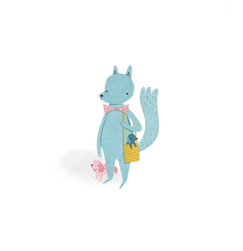 First digital illustration - Lisa Manuels - image 1 - student project