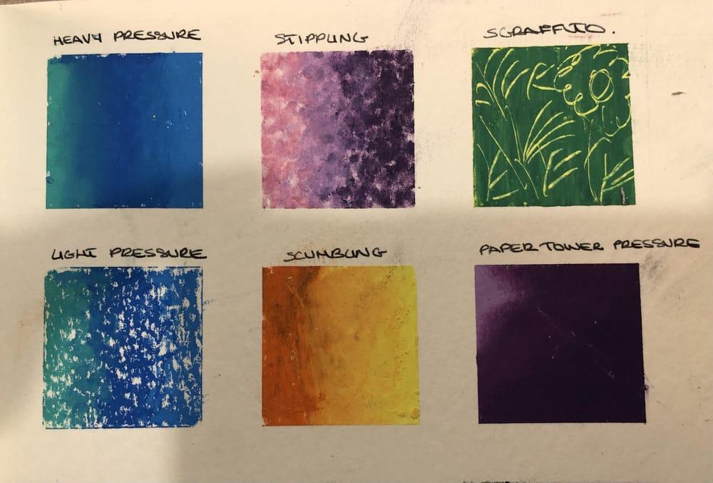 Primi tentativi con i pastelli ad olio - image 2 - student project