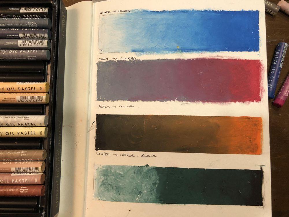 Primi tentativi con i pastelli ad olio - image 1 - student project